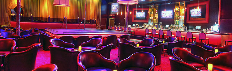 Girl strip vegas club las