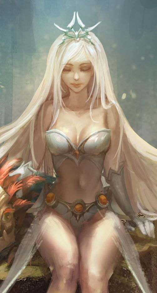 Sexy fan kunst league of legends