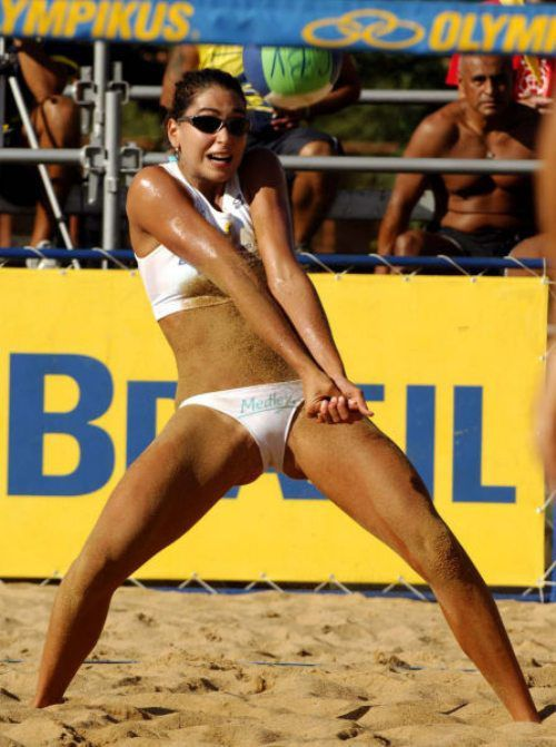 Hot volleyball sexy madchen pussy