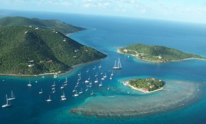 Islands virgin marinas in den british