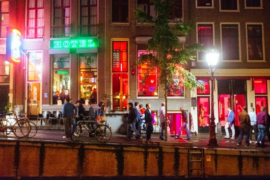 Red light district amsterdam niederlande