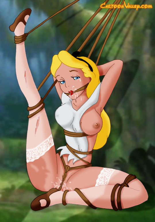 Cartoon wunderland alice porno im