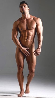 Nackt male schwimmer nude models