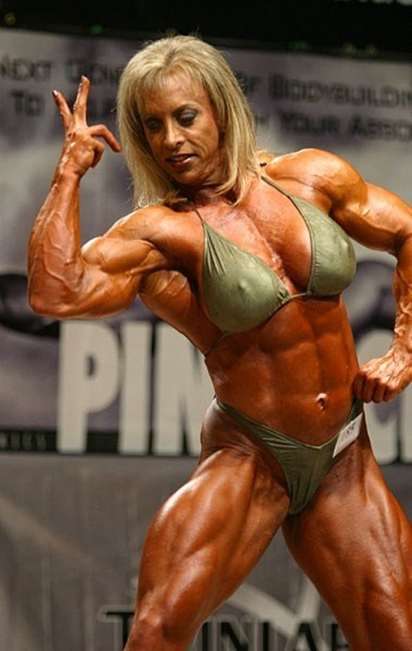 Builder clit muscle female steroid