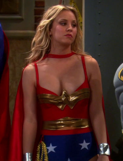 Woman kaley cuoco nackt wonder