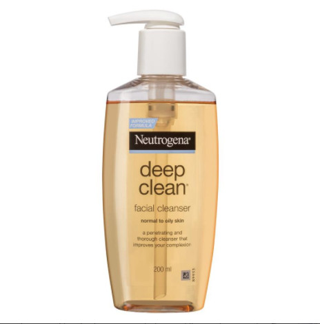 Deep cleanser facial neutrogena clean