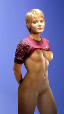 Nude girls star trek fake