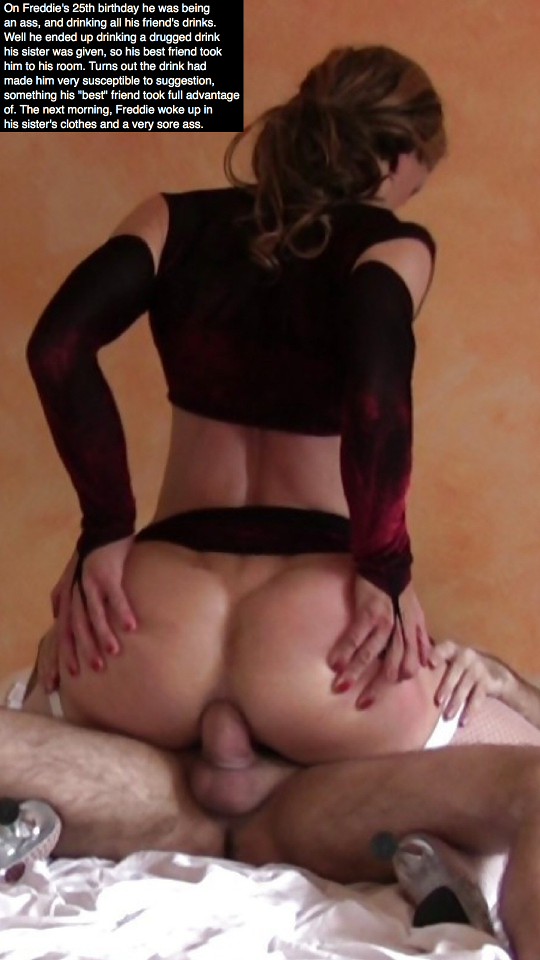 Sissy trap anal sex hot