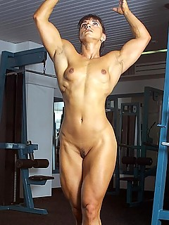 Female girl nude muscle naked